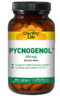 Country Life Pycnogenol 100 mg Vegetarian Capsules