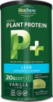 Biochem Sports  100% Plant Protein Supplement  P plus Lean   Vanilla