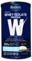 BioChem Vanilla Flavor 100% Whey Isolate Protein Powder