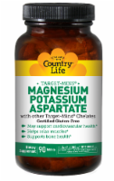 Country Life Target-Mins Magnesium Potassium Aspartate Tablets