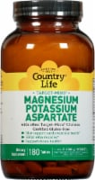 Country Life Magnesium Potassium & Aspartate Thin Tablets