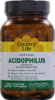 Country Life Acidophilus With Pectin Vegan Capsules