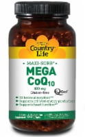 Country Life  CoQ-10 Mega Q-Gel®