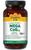 Country Life  CoQ-10 Mega Q-Gel® - 100 mg - 90 Softgels