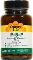 Country Life P-5-P 50 mg Tablets