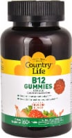 Country Life Strawberry B12 Gummies 60 Count