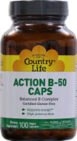 Country Life Action B-50 Vegan Capsules 100 Count
