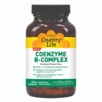 Country Life Coenzyme B-Complex Vegetarian Capsules