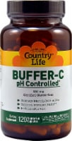 Country Life Buffer-C pH Controlled Capsules 500mg 120 Count