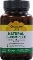 Country Life Natural E Complex Softgels