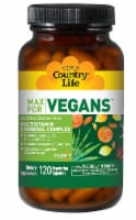 Country Life  Max for Vegans Multivitamin & Mineral Complex