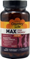 Country Life  Max for Women Iron Free  Multivitamin