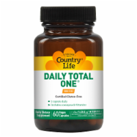 Country Life Daily Total One Iron Free Vegetarian Capsules