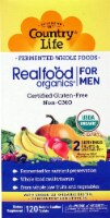 Country Life  Realfood Organics® For Men Whole Food Multivitamin