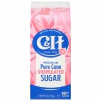 C&H Easy Pour Pure Granulated White Cane Sugar