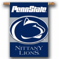 BSI PRODUCTS 96506 Penn State Nittany Lions 2-Sided 28 in. X 40 in. Banner with  Pole Sleeve - 1