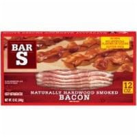 Bar-S® Naturally Hardwood Smoked Bacon - 12 oz