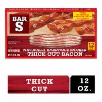 Bar-S® Naturally Hardwood Smoked Thick Cut Bacon - 12 oz