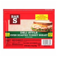 Bar-S Oven Roasted Turkey Breast Deli Lunch Meat