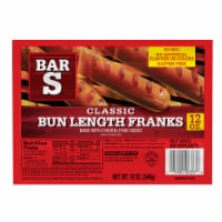Bar S Bun Length Franks