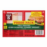 Bar-S Fresh Pack Deli Shaved Oven Roasted Turkey - 4 oz