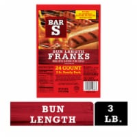 Bar-S Bun Length Franks