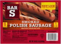 Bar-S Smoked Polish Sausage 8 Count