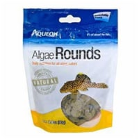 Centaq 158490 3 oz Aqueon Algae Round Fish Food - 1