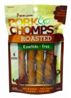 Pork Chomps Roasted Rawhide-Free Dog Treats
