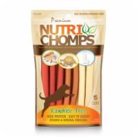 Scott Pet Products TT98885 Nutri Chomps Assorted Flavor Mini Twists Dog Treats, 15 Count - 15