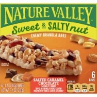 Nature Valley Sweet & Salty Nut Salted Caramel Chocolate Chewy Granola Bars