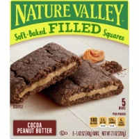 Nature Valley Soft-Baked Cocoa Peanut Butter Filled Squares 5 Count