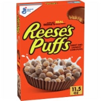 Reese's Puffs Peanut Butter & Chocolate Whole Grain Cereal