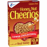 Cheerios Honey Nut Gluten Free Whole Grain Oat Cereal