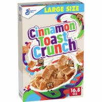 Cinnamon Toast Crunch Whole Grain Cereal Large Size