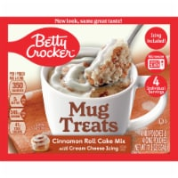 Betty Crocker Cinnamon Roll Mug Treat Mix Pouches