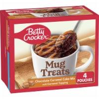 Betty Crocker Mug Treats Chocolate Caramel Cake Mix 4 Count