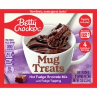 Betty Crocker Hot Fudge Brownie Mug Treat Mix Pouches