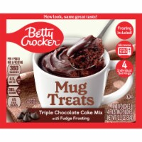 Betty Crocker Triple Chocolate Cake Mug Treat Mix Pouches