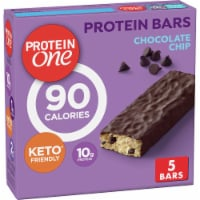 Fiber One Protein One Chocolate Chip Protein Bars 5 Count