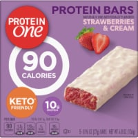 Protein One Strawberries & Cream Protein Bars