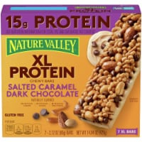 Nature Valley XL Protein Salted Caramel Dark Chocolate Chewy Bars