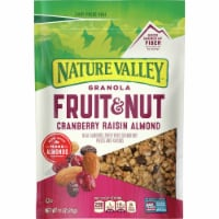 Nature Valley Fruit & Nut Cranberry Raisin Almond Granola
