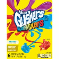 Fruit Gushers Punch Berry Mouth Mixers Fruit Snacks