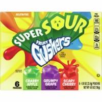 Super Sour Fruit Gushers Fruit Snacks