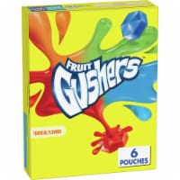 Fruit Gushers Tropical Flavors Fruit Flavored Snacks