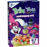Trix DreamWorks Trolls World Tour Marshmallows Cereal