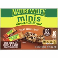 Nature Valley Sweet & Salty Dark Chocolate Peanut and Almond Mini Granola Bars 10 Count