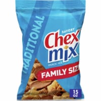 Chex Mix Traditional Savory Snack Mix Family Size