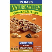 Nature Valley™ Sweet & Salty Nut Chewy Granola Bar Variety Pack - 15 ct / 1.2 oz